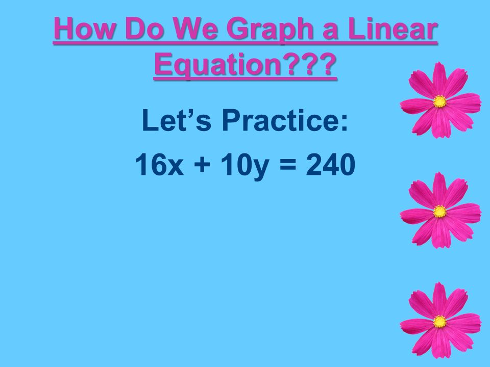 Unit 1 – Lesson 3: Systems of Linear Equations - ppt download
