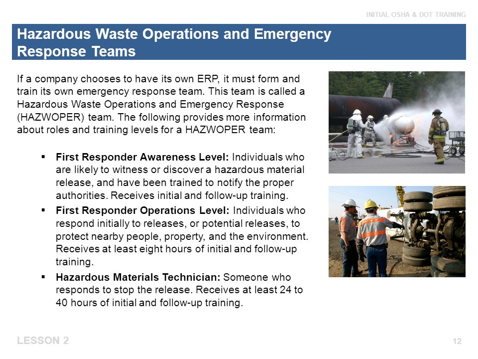 MODULE 4 Emergency Response  - ppt video online download