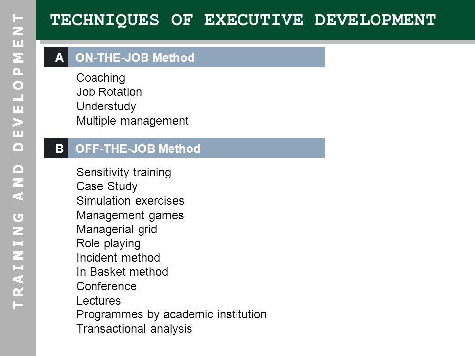 management games training method