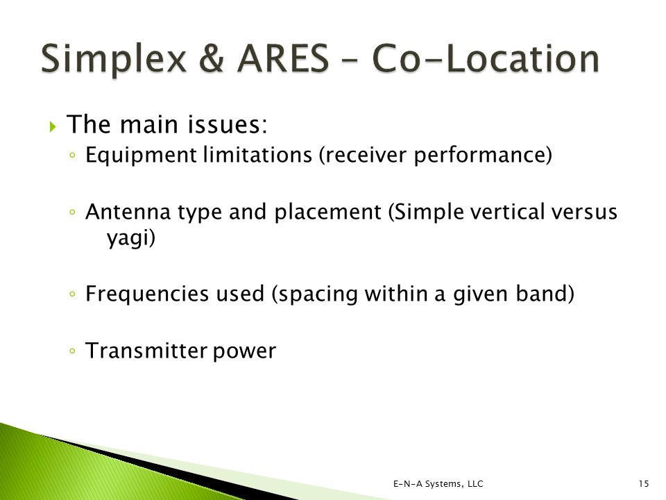 Simplex Operations & ARES® The Issues - ppt video online