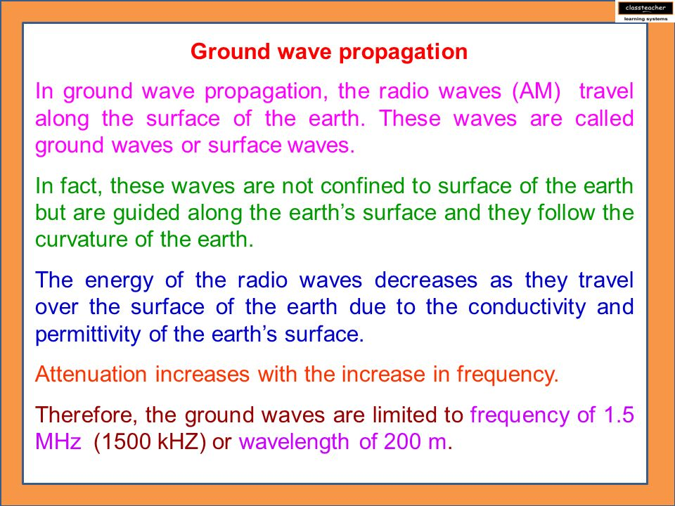 Propagation of Electromagnetic Waves - ppt video online download