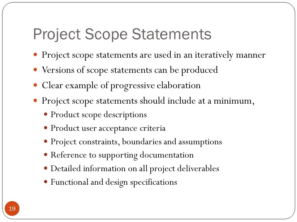 Project scope example images example of resume for student.