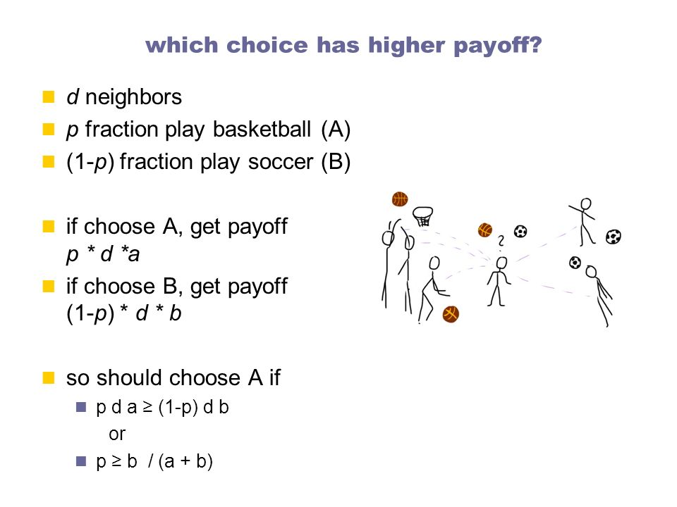 which choice has higher payoff