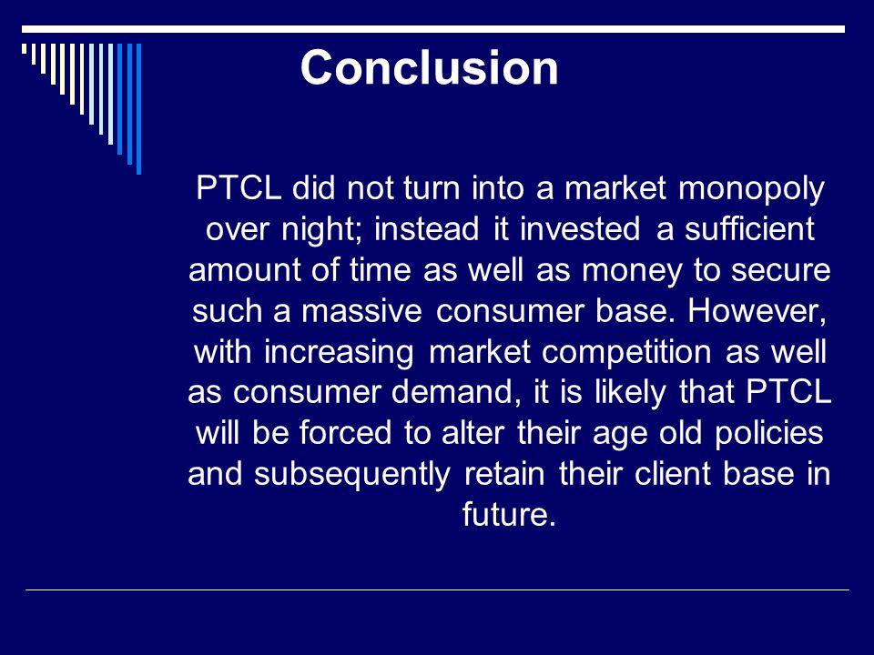 marketing strategy of ptcl