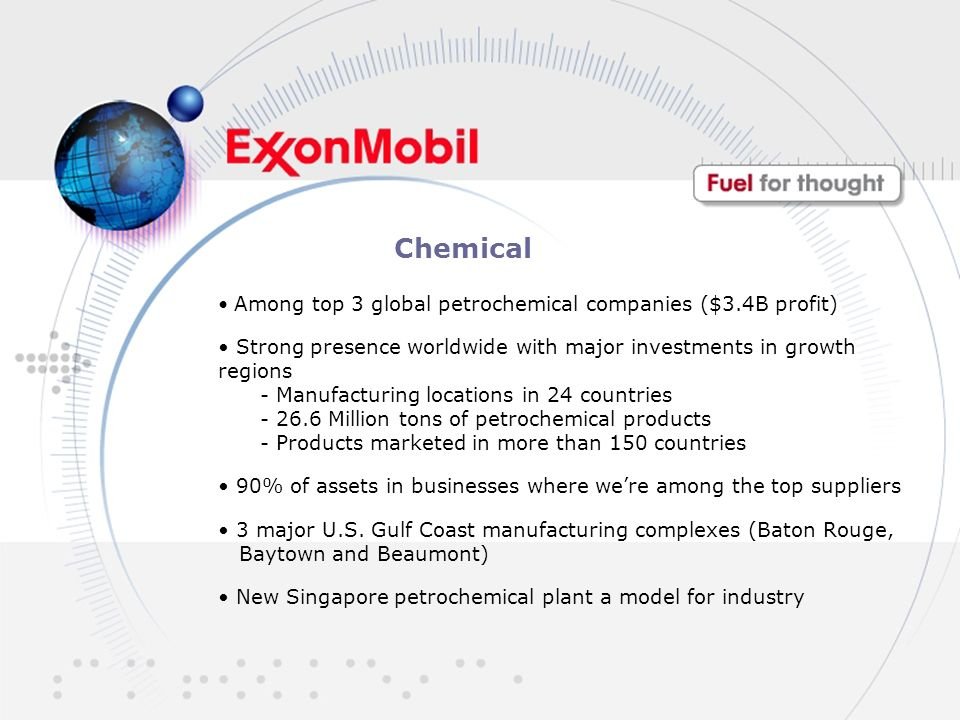 ExxonMobil Careers: Fuel For Thought - ppt download
