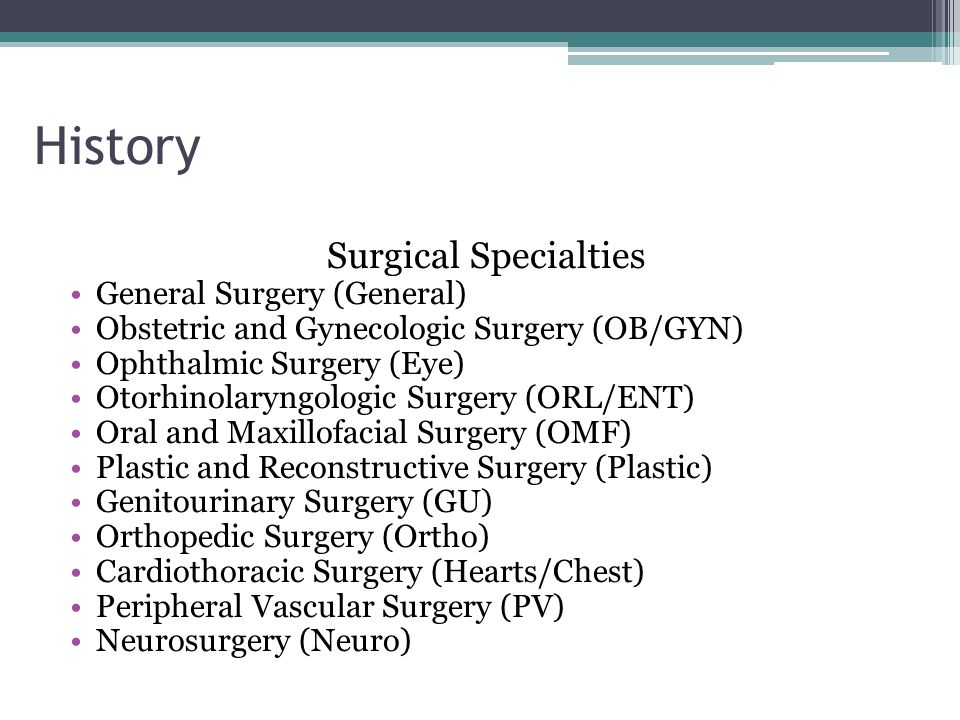Orientation to Surgical Technology & History of Surgery - ppt video ...