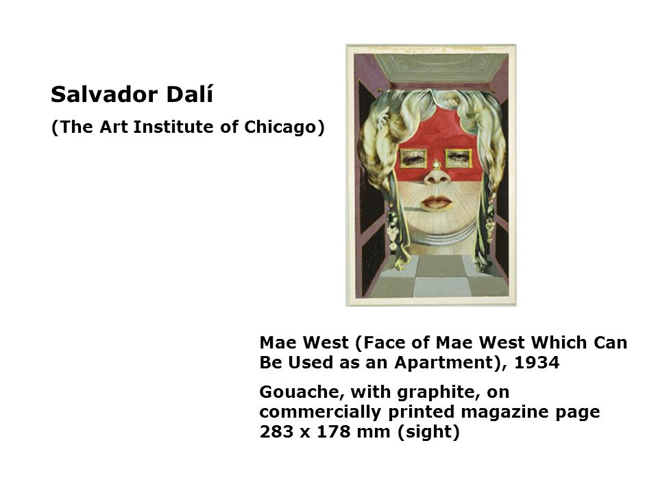 Salvador Dalí (The Art Institute of Chicago)