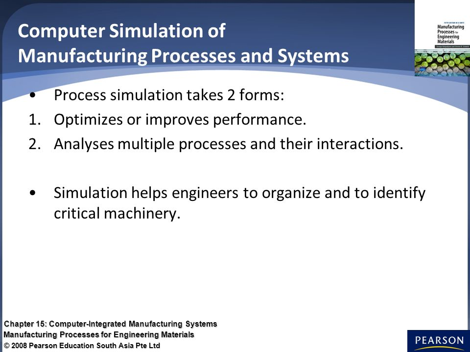 Chapter 15: Computer-Integrated Manufacturing Systems - ppt