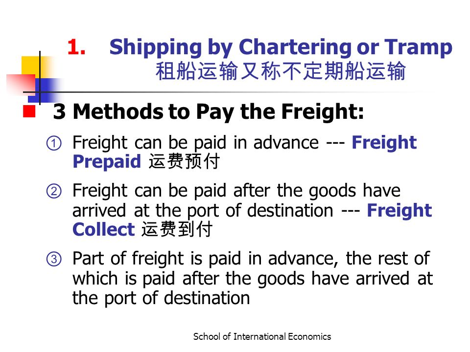 Chapter 6: Delivery of Goods - ppt video online download