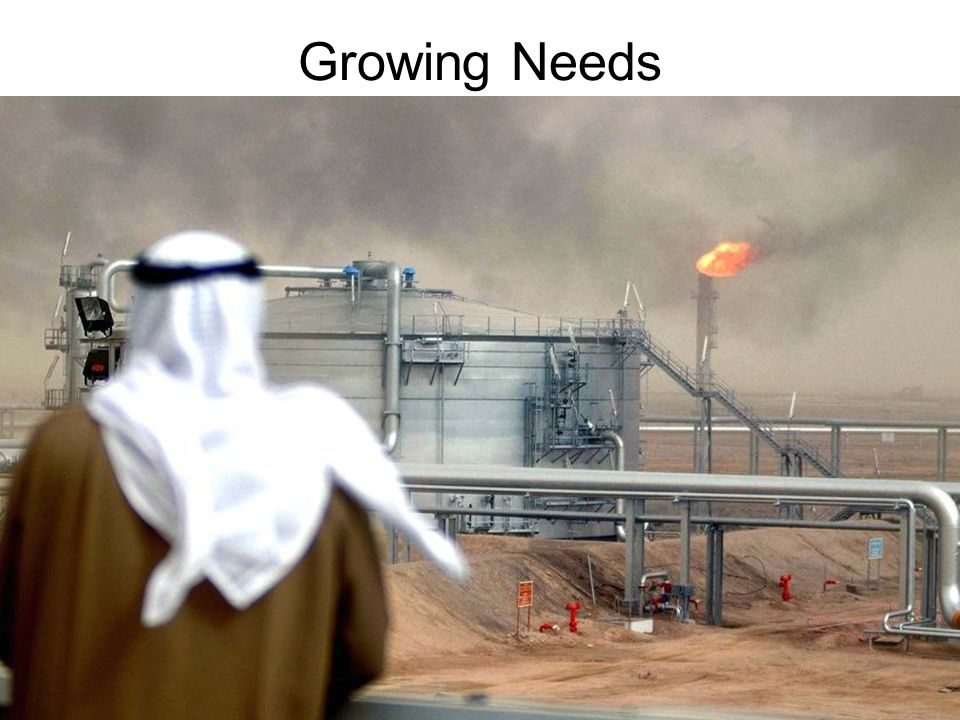 Growing Needs In 1973, members of OPEC (Organization of Petroleum Exporting Countries) raised the price of oil.