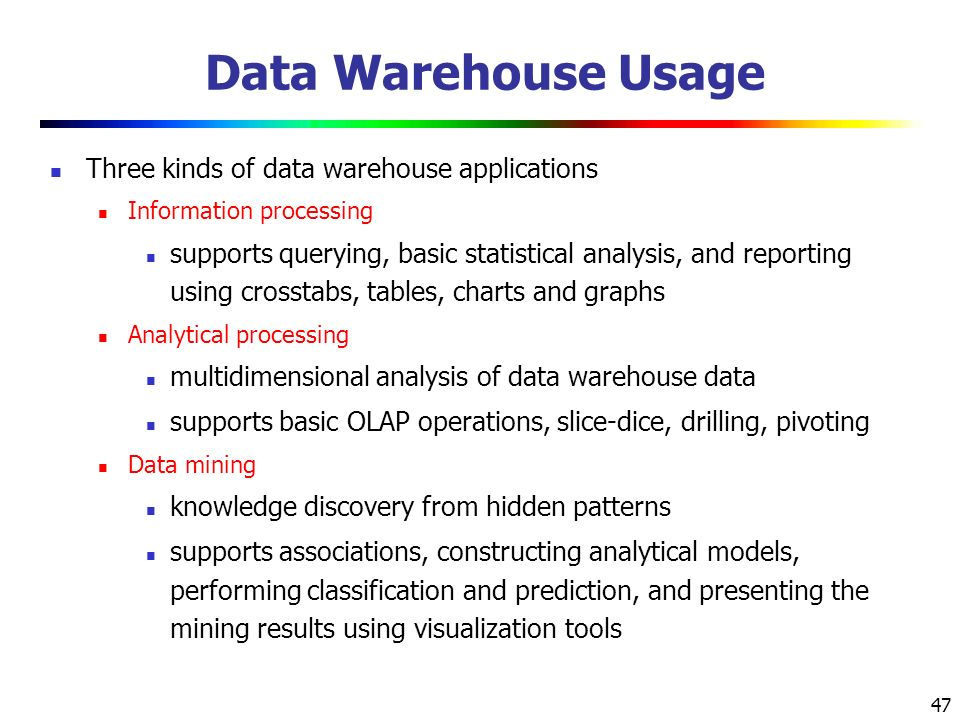 data warehousing research topics Data mining research papers 2012 2013 full list search new data mining research papers 2012-2013 data mining for security purposeits solitude suggestions  the data warehouse is used in the significant business value by improving the effectiveness of managerial decision-making  (osns), with special emphasis on latest hot topics of research area there are several factors which has made the study of osns gain.