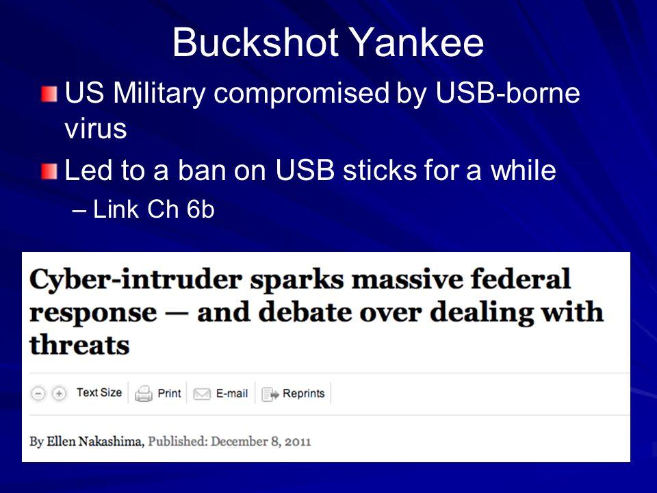 buckshot yankee