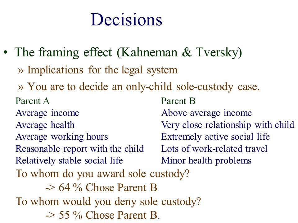 Decisions, Judgements and Reasoning - ppt download