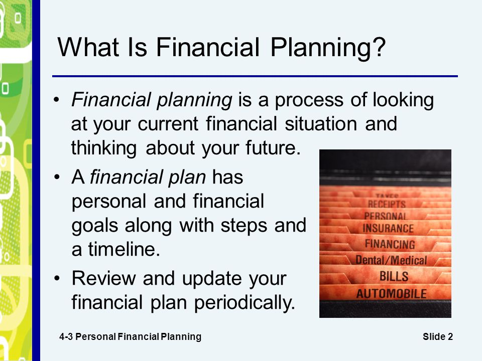 Chapter 4 Financial Decisions and Planning - ppt download