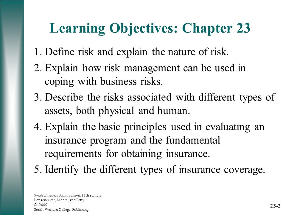 Chapter 23 Risk and Insurance In the Spotlight: - ppt download