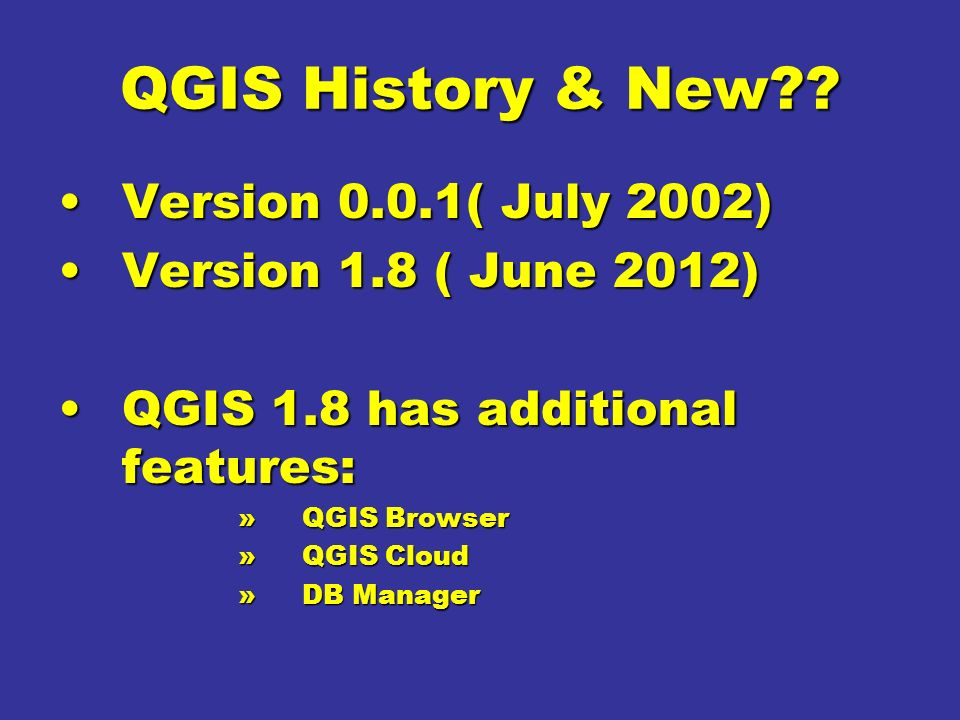 CUSTOMISED QGIS for Forest Change Detection - ppt video online download