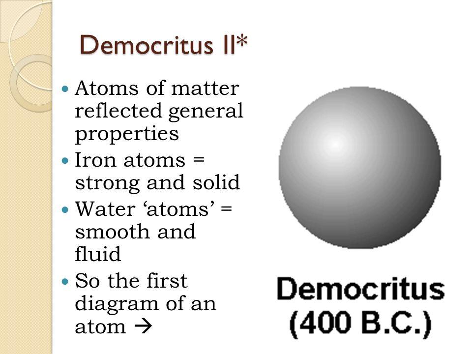 Unit 3 atomic structure ppt video online download 14 democritus ii atoms ccuart Gallery
