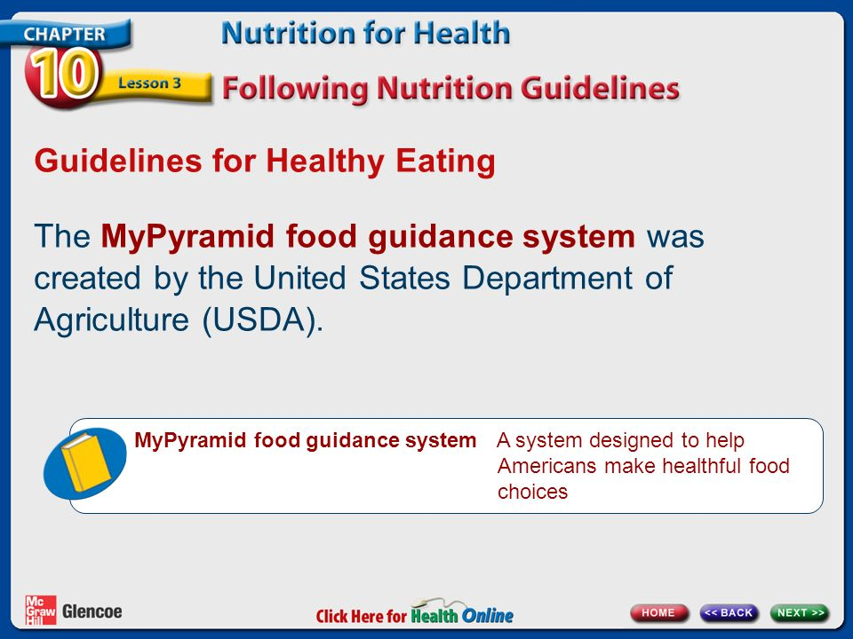 Chapter 10 Nutrition For Health Lesson 3 Ppt Video Online