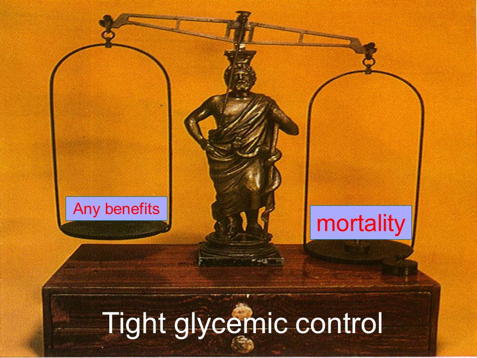 Tight glycemic control