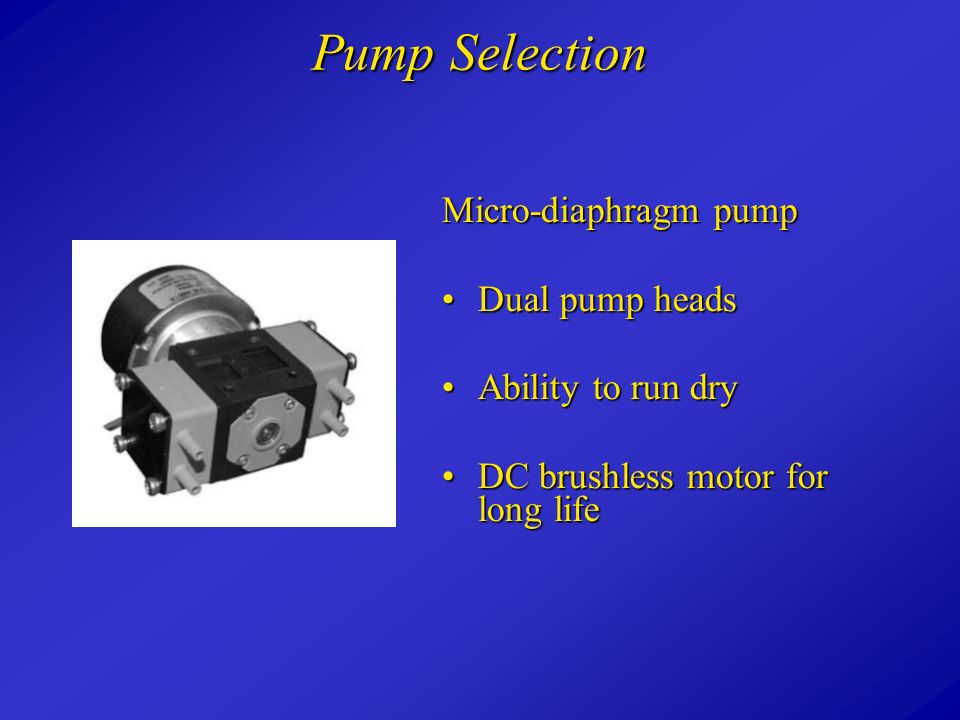 Sterilization device for liquid chromatography solvents ppt video 17 pump selection micro diaphragm pump dual pump heads ability to run dry ccuart Image collections