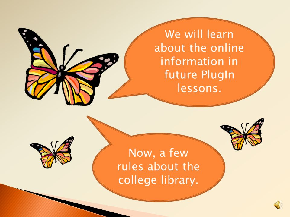 We will learn about the online information in future PlugIn lessons.