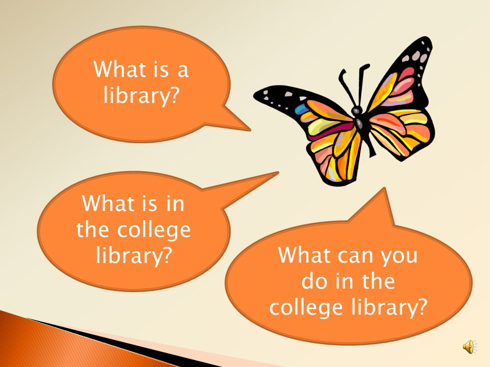 What is in the college library
