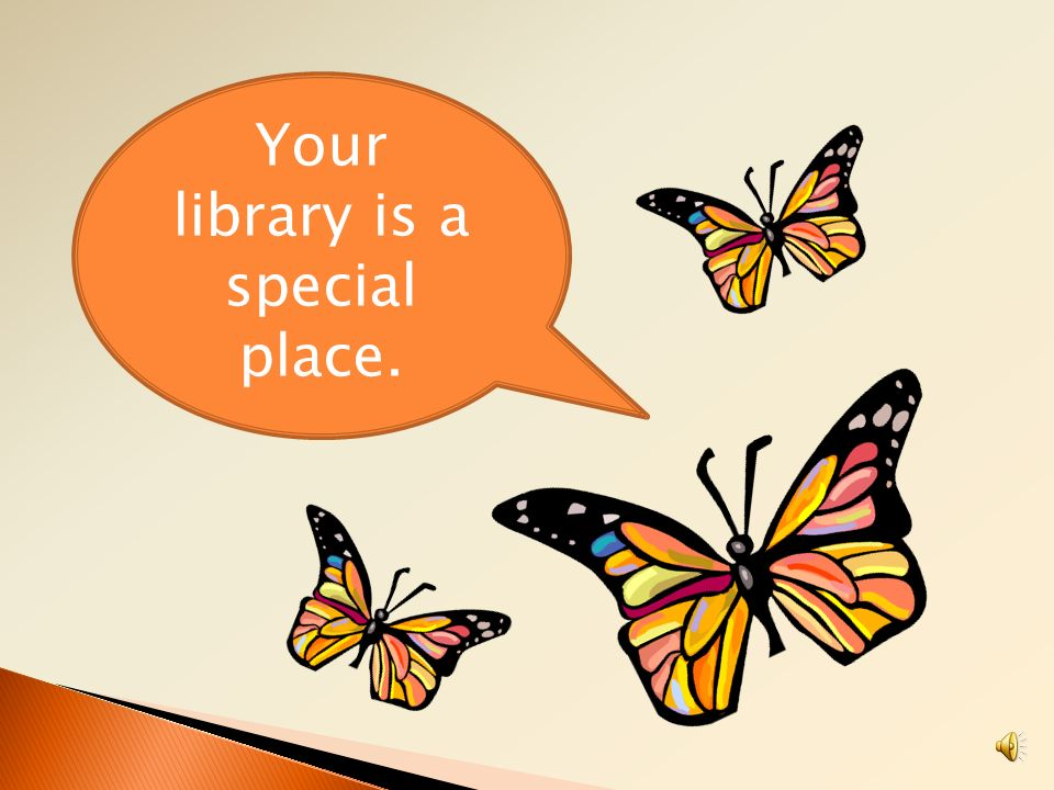 Your library is a special place.
