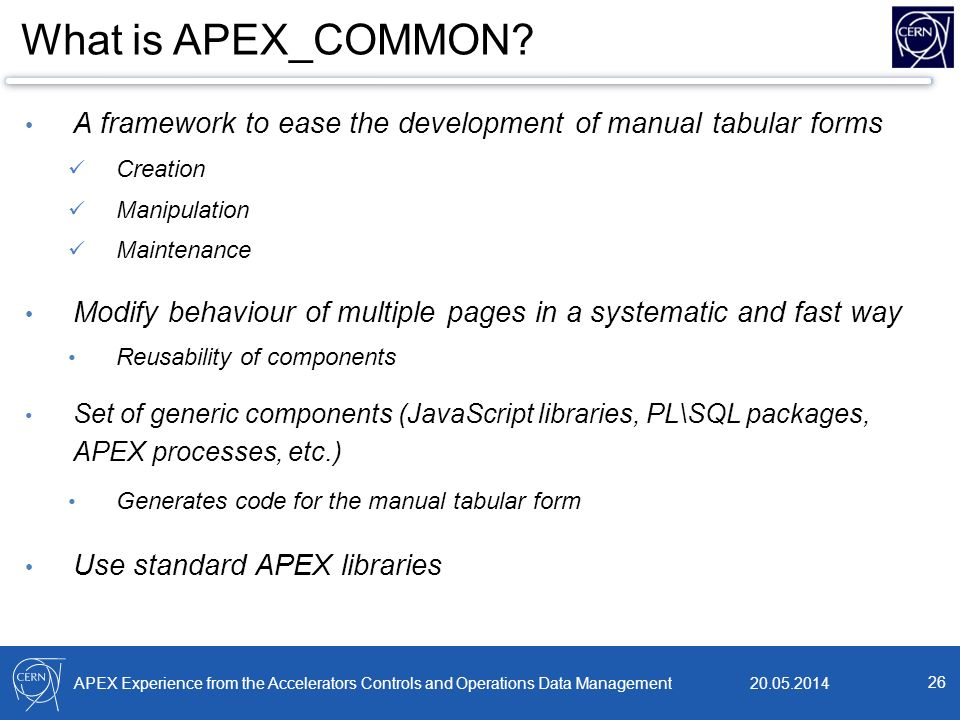 Database Developers Forum – APEX - ppt download