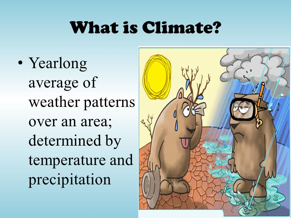 What is Climate.