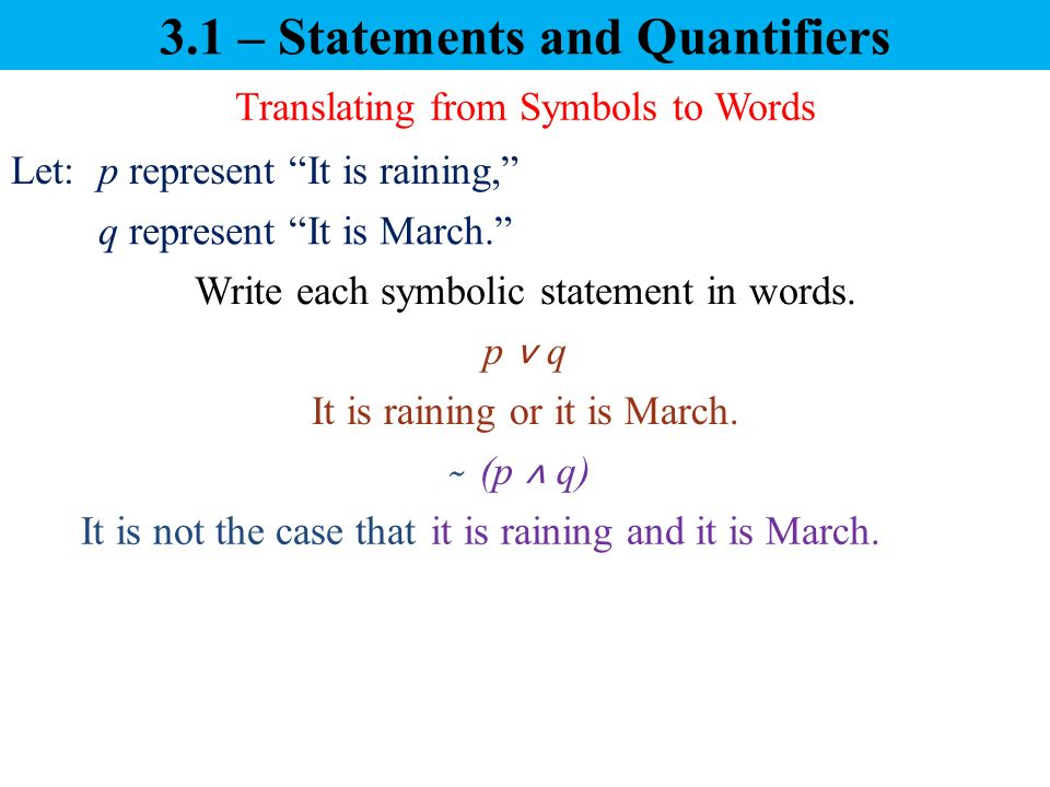 Chapter 3 Introduction To Logic Ppt Video Online Download