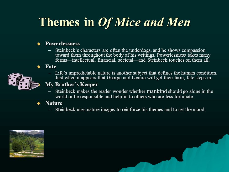 major themes of of mice and men