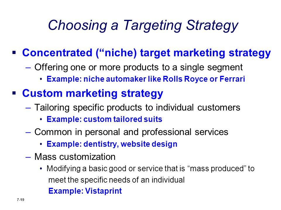 Report on market segmentation targeting and positioning.