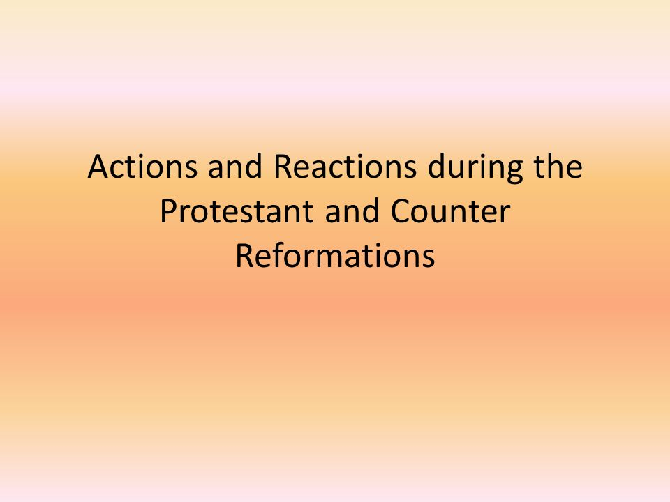 causes and effects of the protestant reformation Causes and consequences of the protestant reformation   change and the effects of religious institutions on  of the reformation's causes and consequences based on s ystematic analysis of.