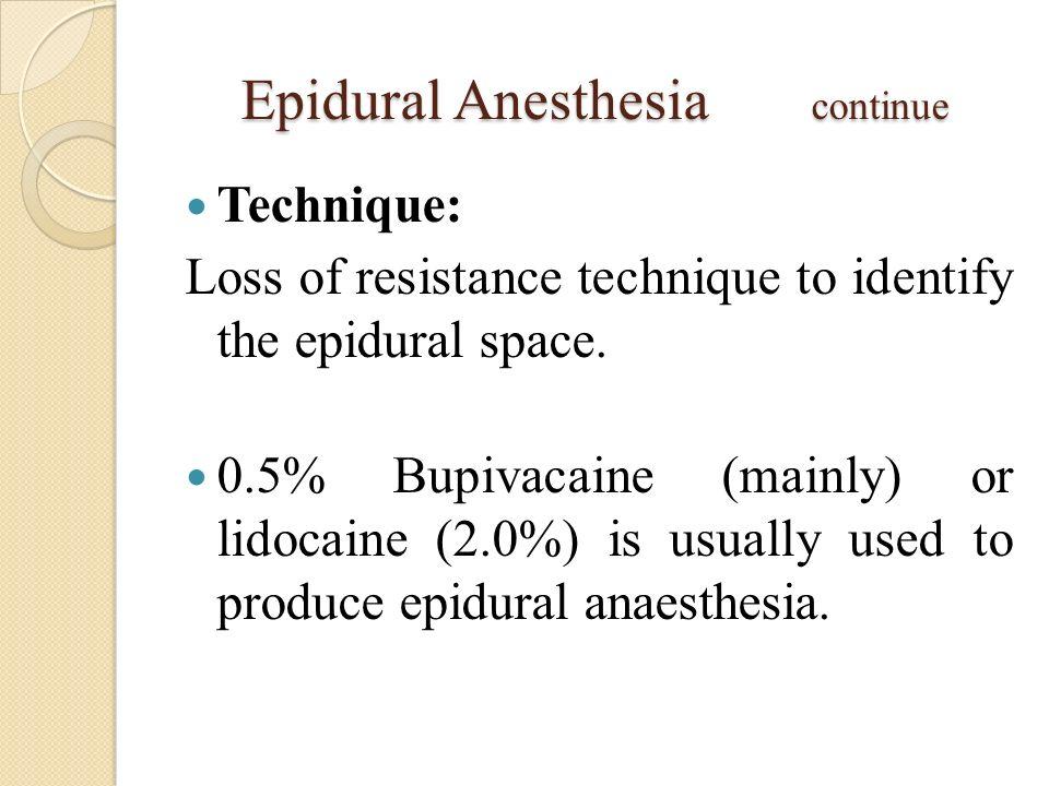 Spinal And Epidural Anesthesia Mahmoud Ibrahim Abd El Fattah Md