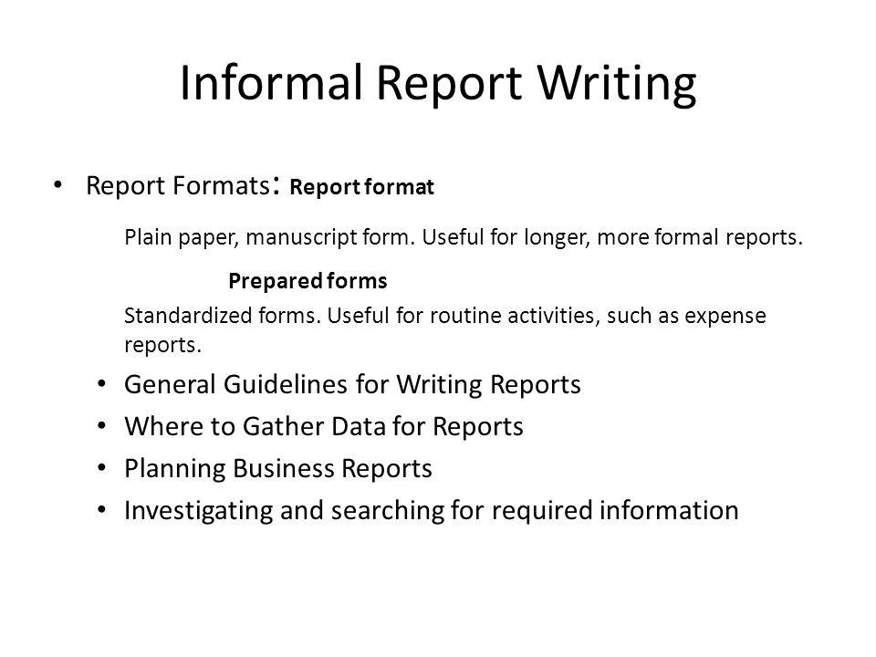 business communication workshop ppt video online download rh slideplayer com guidelines for writing eeg reports guidelines for writing reports