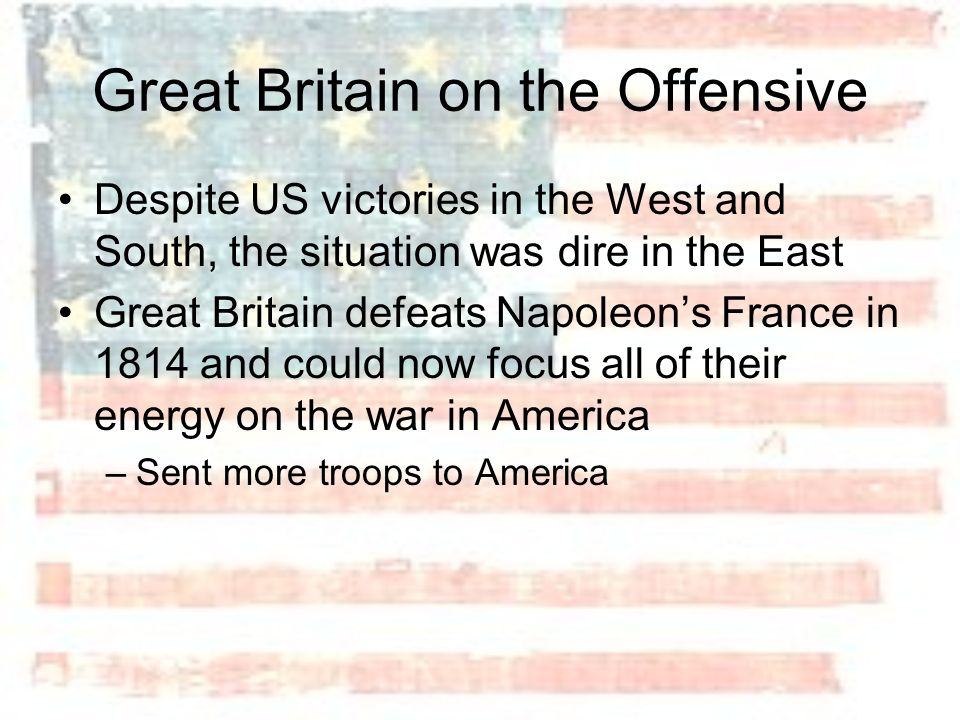Great Britain on the Offensive