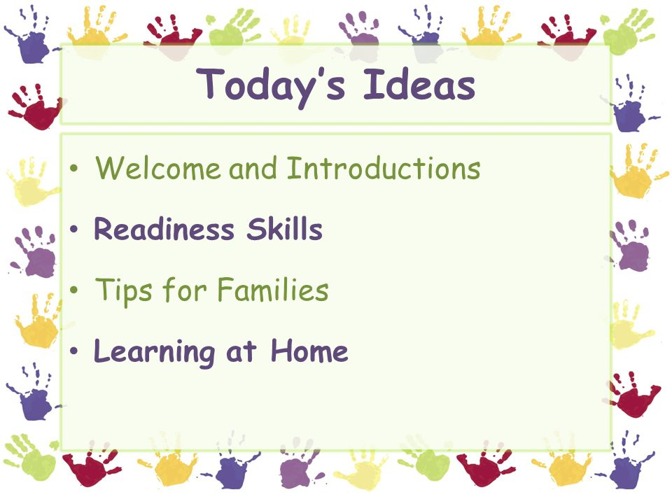 Is Your Child Ready For Kindergarten >> Was Your Child Ready For Kindergarten Ppt Video Online Download