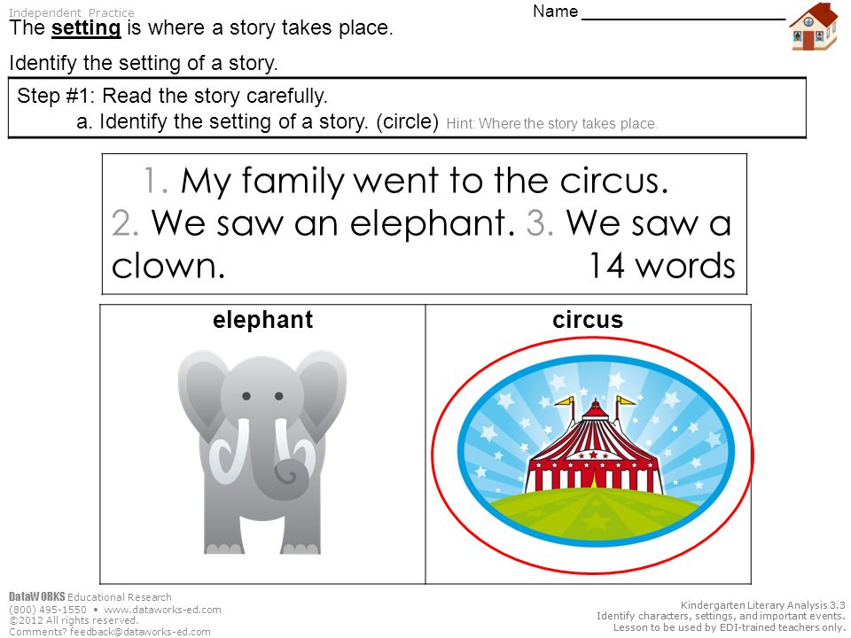 Today We Will Identify1 The Setting Of A Story Ppt Video Online
