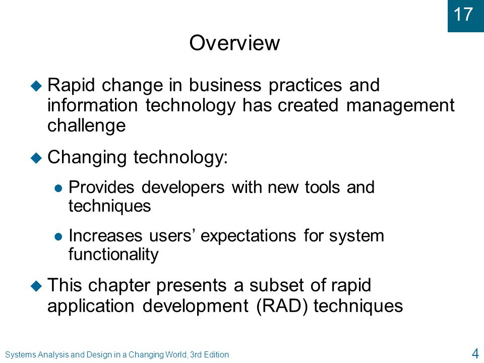 Chapter 17 Current Trends In System Development Ppt Video Online Download