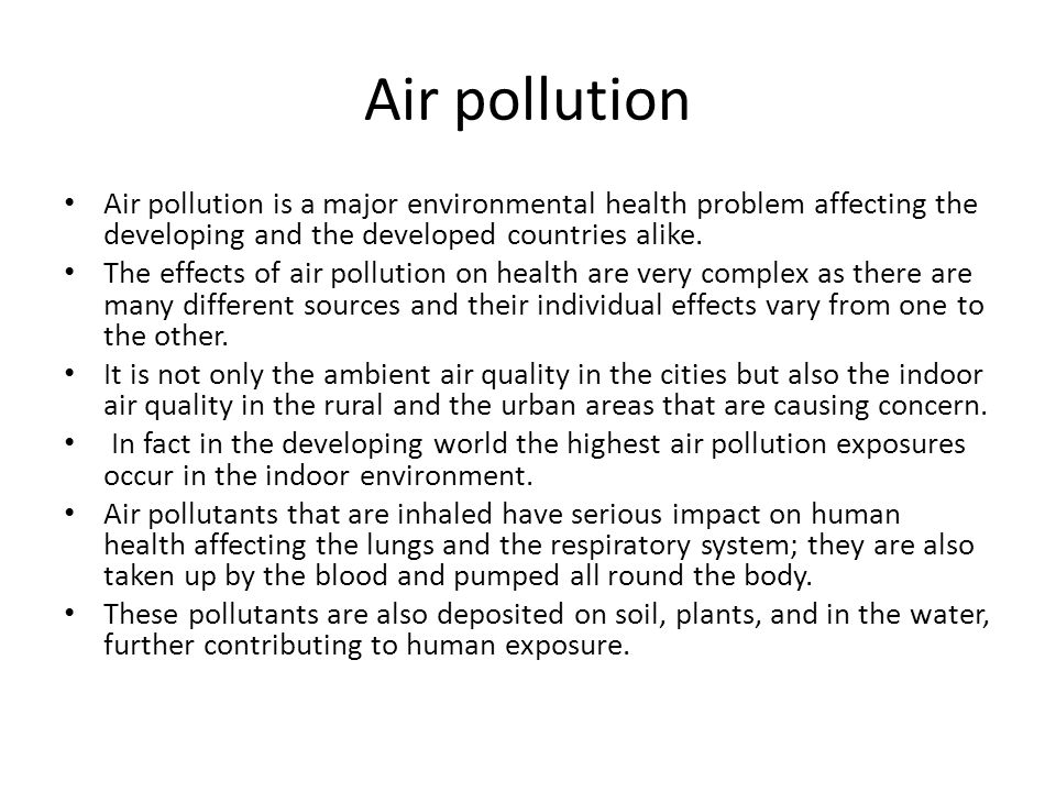 major pollutant ammonia essay Air pollution is a real public health and environmental problem that can lead to-among other things-global warming, acid rain, and the deterioration of the ozone layer this chart names some common pollutants, their sources, and their effect on the environment.