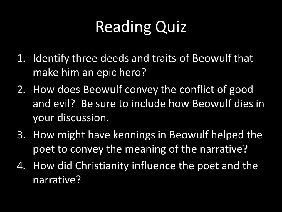 is beowulf the ideal epic hero