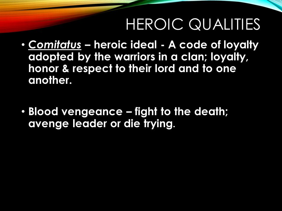 anglo saxon heroic ideal