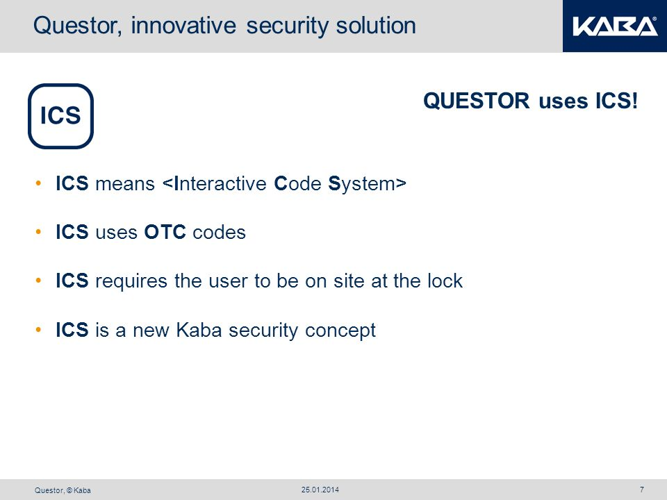 Questor, innovative security solution
