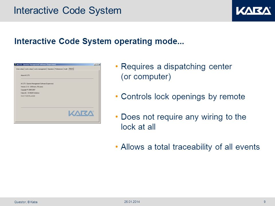 Interactive Code System