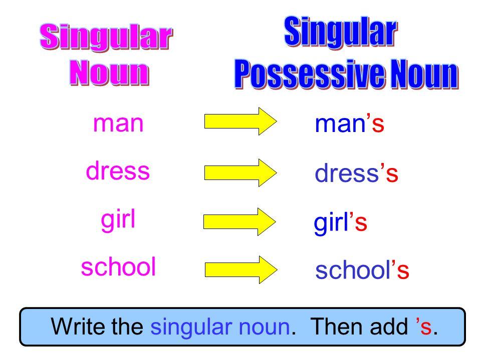 Plural Possessive Nouns - ppt video online download