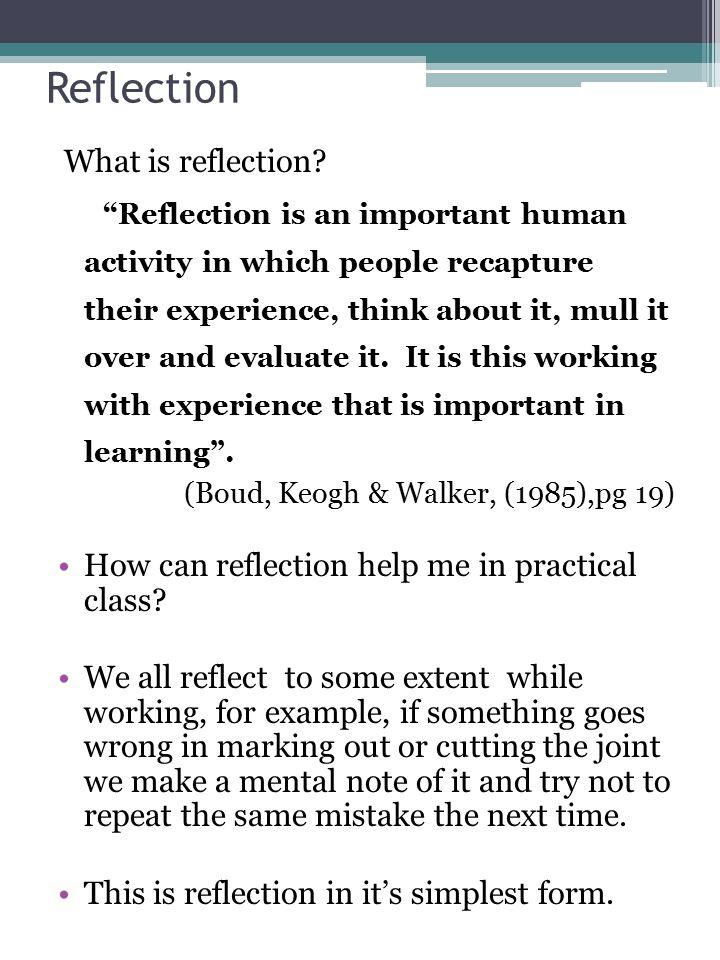 Reflective Journal  - ppt video online download