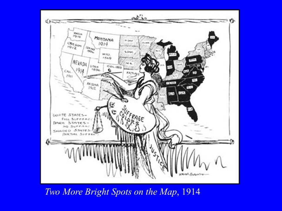 Two More Bright Spots on the Map, 1914