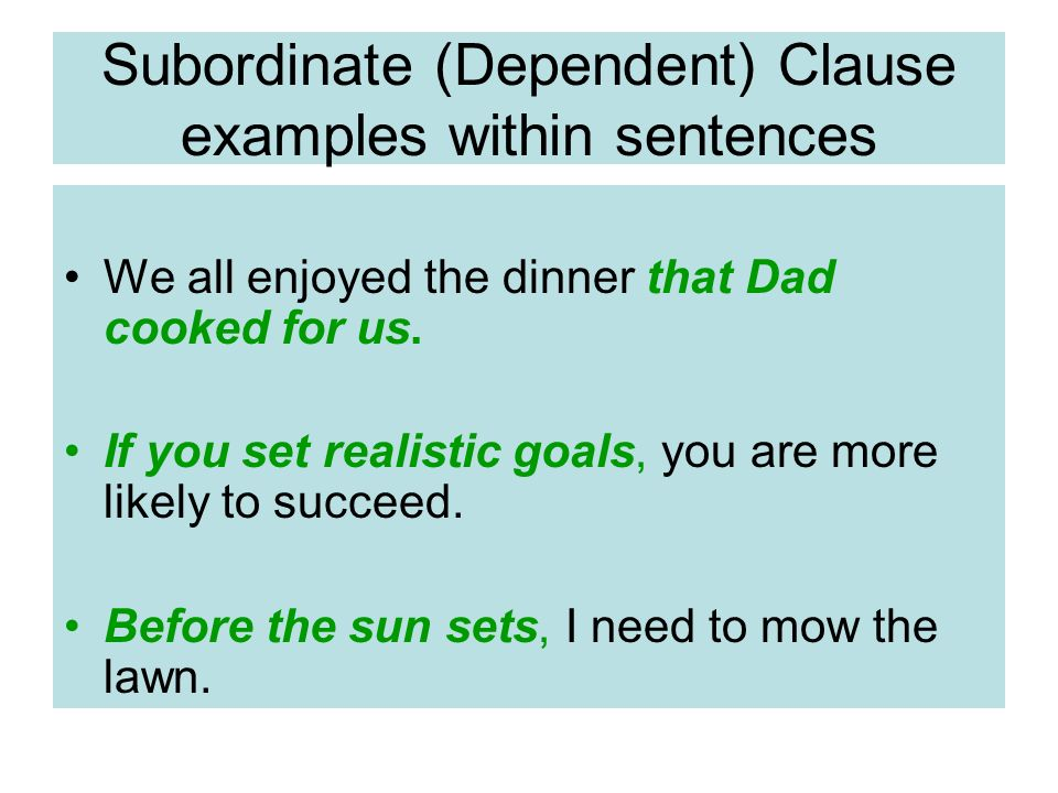 Sentence Clauses Ppt Download
