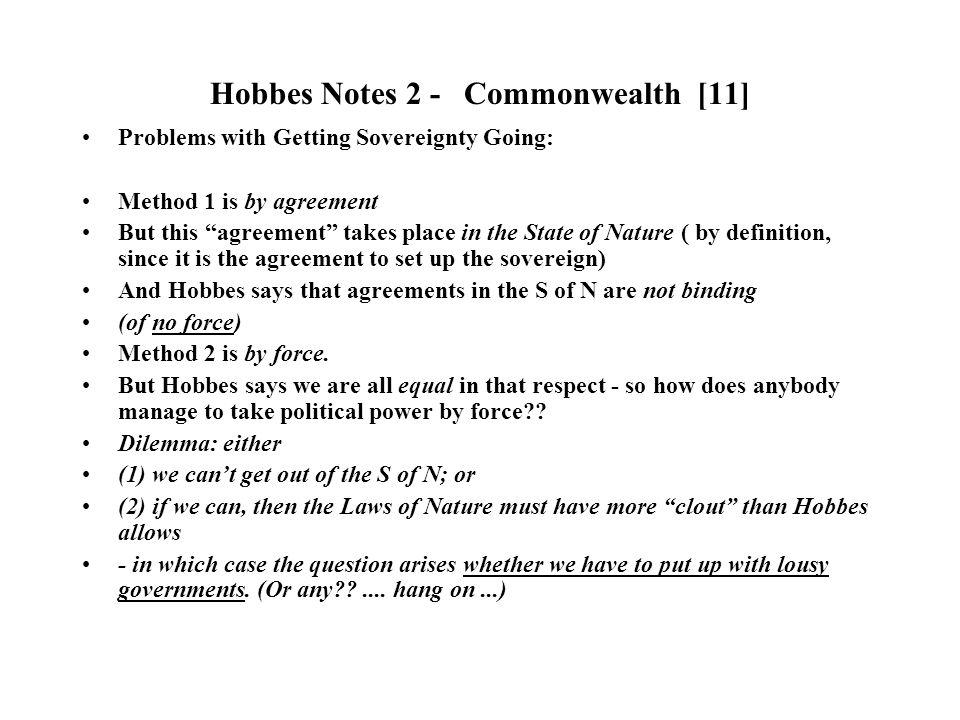 hobbes commonwealth