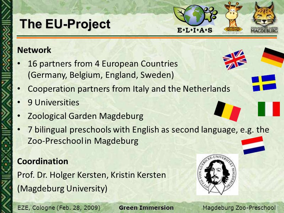 The EU-Project Network